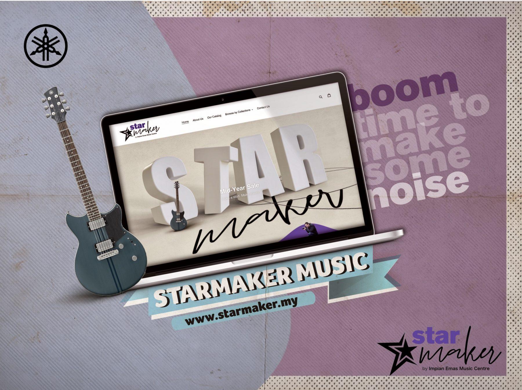 Starmaker Music Yamaha Music Impian Emas 02