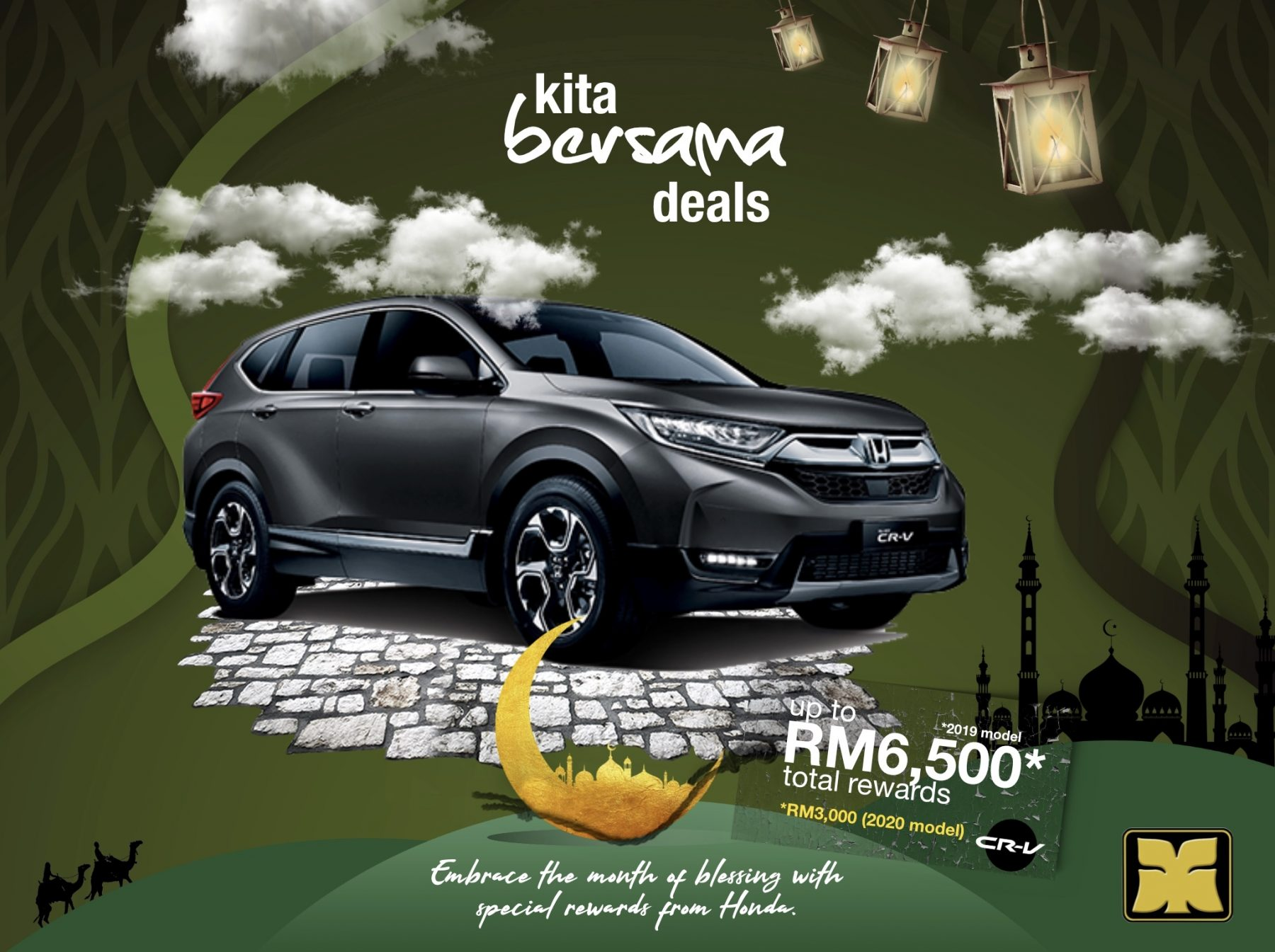 Month of Blessing Kita Bersama Deals Yong Ming Honda CR-V